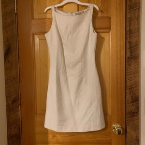 Banana Republic white mini dress